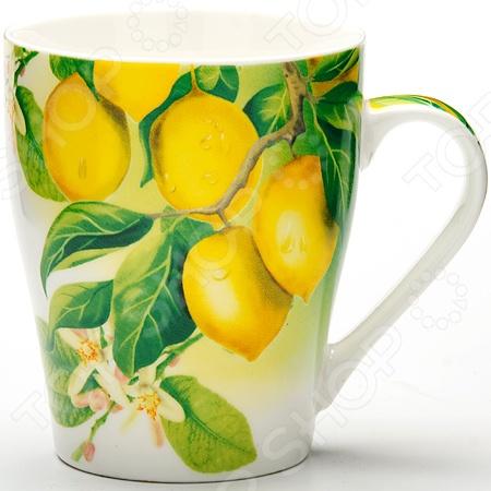 Кружка Loraine «Цитрус» керамическая посуда