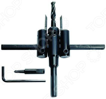Сверло по дереву регулируемое MATRIX Master «Балеринка» 70497Сверла<br>Сверло по дереву регулируемое MATRIX Master Балеринка 70497 сверла, используемые в работе с древесиной различного типа. Сверло изготовлено из качественной углеродистой стали, обладает высоким ресурсом. Спираль имеет специальную форму, что обеспечивает идеальный отвод продуктов сверления и препятствует перегреву. Усиленный стержень предохранит предмет от деформации при ударных нагрузках. Режущие пластины перемещаются по горизонтальной направляющей относительно сверла-сердечника<br>