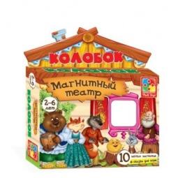 Купить Игра развивающая для малыша Vladi Toys «Магнитный театр. Колобок»