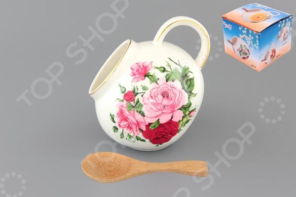 Банка для соли Elan Gallery «Аромат роз»