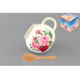 Купить Банка для соли Elan Gallery «Аромат роз»