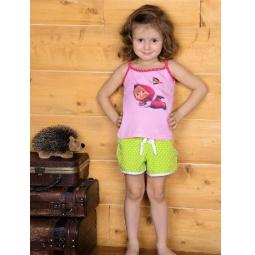 фото Майка для девочек Detiland SS14-CVV-GTP-452. Цвет: розовый. Рост: 98 см