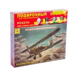 фото Сборная модель бомбардировщика Моделист «По-2»