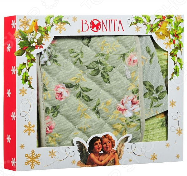 Комплект кухонный подарочный BONITA «Английская коллекция» 20100214309 коллекция