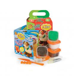 фото Набор пластилина Оранжевый Слон «Подвижная игрушка Резвый щенок»