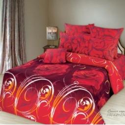 фото Комплект постельного белья Романтика «Вечная страсть». Евро