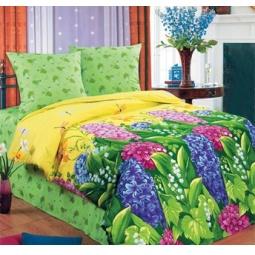 фото Комплект постельного белья Комфорт «Цветник». 2-спальный
