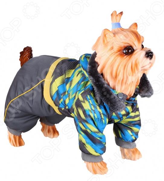 Комбинезон для собак DEZZIE 563566 триол комбинезон зимний микки для собак trio l