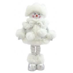 Купить Игрушка новогодняя Новогодняя сказка «Снеговик» 972006