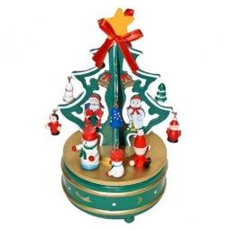 фото Декорация новогодняя Новогодняя сказка «Карусель с игрушками»