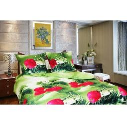 фото Комплект постельного белья Amore Mio Yagoda. Mako-Satin. 1,5-спальный
