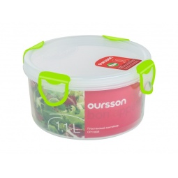 фото Контейнер для хранения продуктов Oursson Clip Fresh CP1100R. Цвет: зеленый