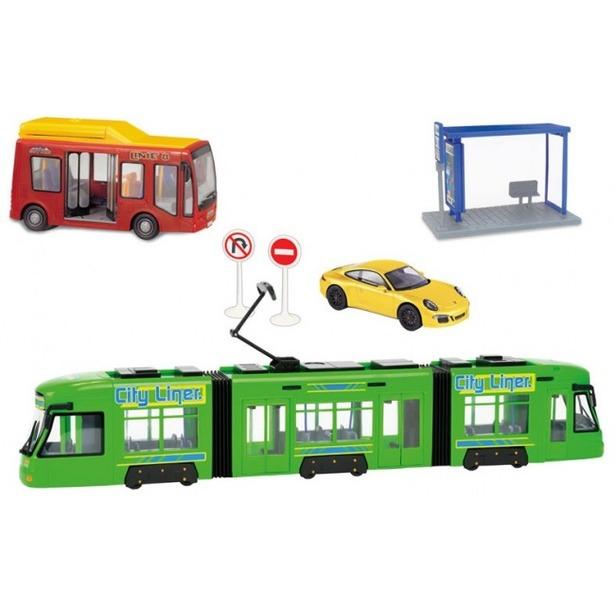 фото Набор игровой для мальчика Dickie «Городской транспорт»