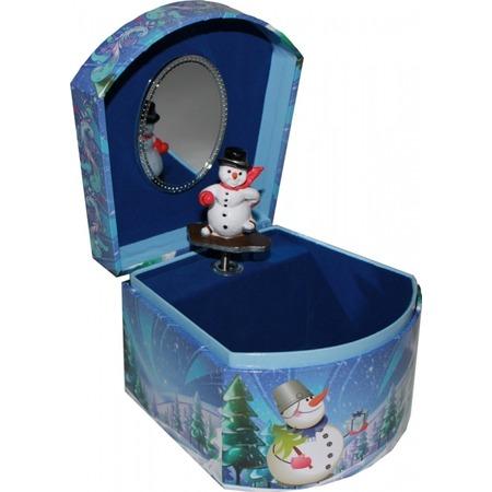 Купить Музыкальная шкатулка Jakos «Снеговик»