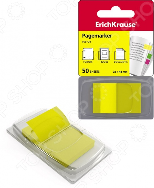 Набор стикеров-закладок Erich Krause пластиковых
