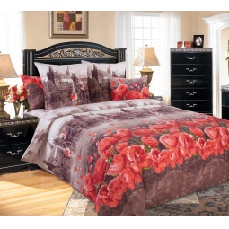 фото Комплект постельного белья Королевское Искушение «Прага». 2-спальный. Размер простыни: 220х195 см