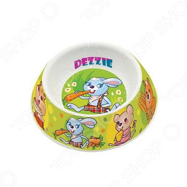 Миска для грызунов DEZZIE «Вкусный обед» 5619001 миска для кошек собак гамма n0