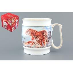 Купить Кружка пивная Elan Gallery «Тигры»