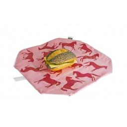 фото Упаковка для бутербродов Lurch. Цвет: розовый
