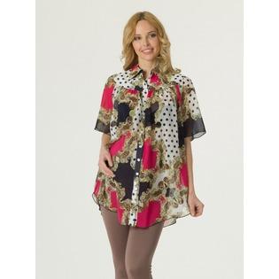 Купить Блузка для беременных Nuova Vita 1601.1. Цвет: малиновый