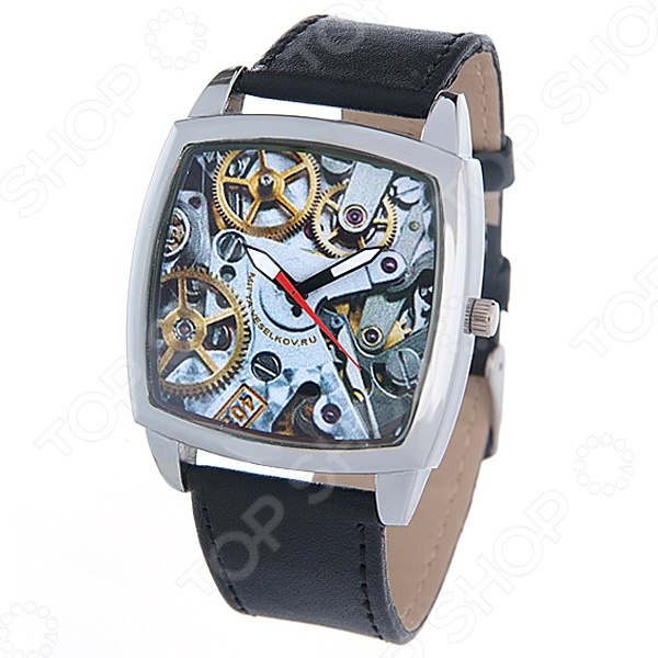 Часы наручные Mitya Veselkov «Часовой механизм»
