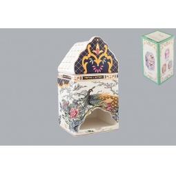 фото Банка для чайных пакетиков Elan Gallery «Павлин на золоте»