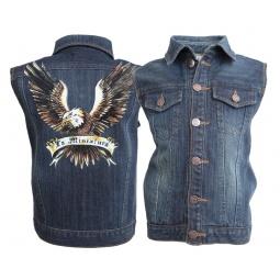 Купить Жилет для младенцев La Miniatura «Denim Vest»