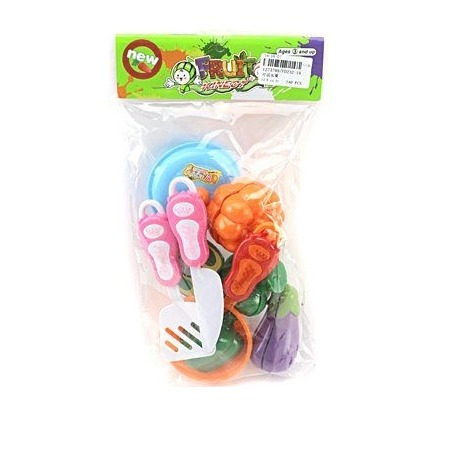 Купить Набор посуды игрушечный Shantou Gepai с продуктами FD232-19