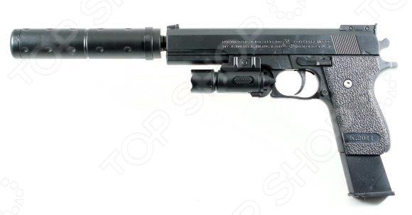 Пистолет игрушечный Shantou Gepai ES2089-K2011-B игрушечное оружие edison игрушечный пистолет стерлинг золотой 17 5 см