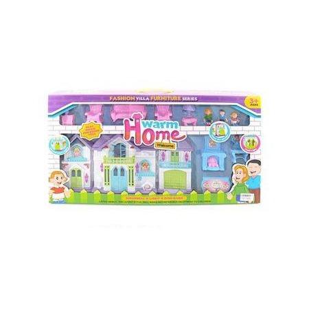 Купить Кукольный дом с аксессуарами Shantou Gepai Warm home