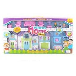 фото Кукольный дом с аксессуарами Shantou Gepai Warm home