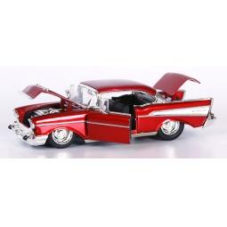 фото Модель автомобиля 1:24 Jada Toys 1957 Chevy Bel Air Hardtop. Цвет: красный