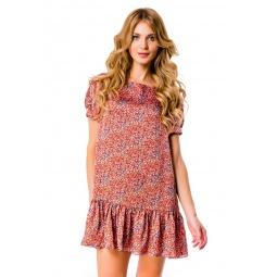 фото Платье Mondigo 5106. Цвет: коралловый. Размер одежды: 46
