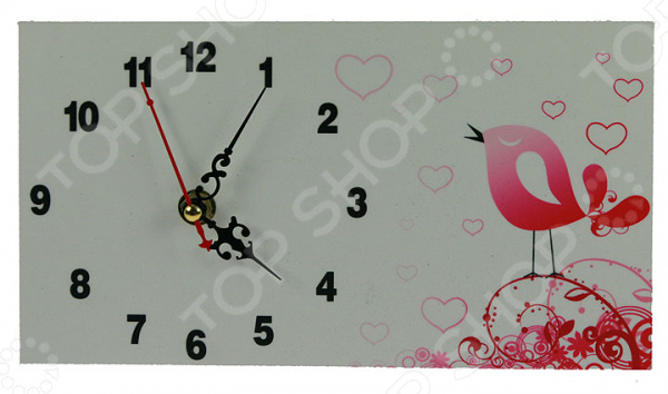 Часы настольные «Мелодия любви» 38237Часы настольные<br>Часы настольные Мелодия любви 38237 это не просто милая деталь интерьера, но и самая необходимая вещь для планирования дня! Представить свою жизнь без часов невозможно, особенно в современном мире, где на счету каждая минута. Настольные часы помогут подчеркнуть индивидуальность вашего интерьера, вы можете подобрать подходящую модель для каждой комнаты. Кварцевый механизм очень надёжен, питание происходит от батарейки типа АА. За часами очень просто ухаживать, достаточно протереть сухой тряпочкой и часы будут как новые, идеально подойдёт ткань из микрофибры.<br>