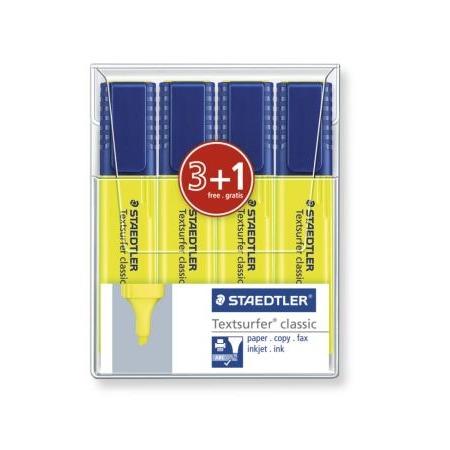 Купить Набор маркеров-текстовыделителей Staedtler 364-1WP4P