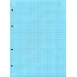 фото Блок сменный Erich Krause для тетради на кольцах. Цвет: голубой
