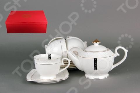 Чайный набор Коралл CРТ0111-А «Снежная королева» стеллар детская посуда чайный набор