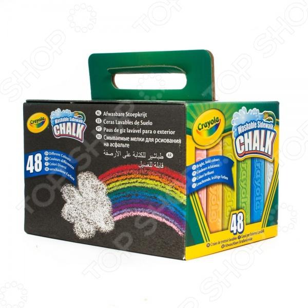 Мелки для рисования на асфальте Crayola 51-2048
