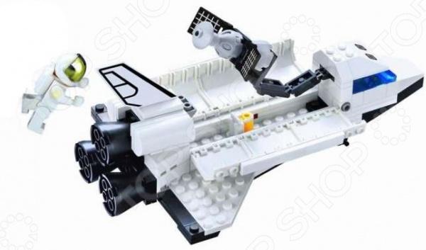 Конструктор для мальчика Brick 509 станет отличным подарком для юного конструктора! Игровой набор не только обучает и развлекает, но и помогает развивать мелкую моторику рук, логическое мышление и воображение ребенка. Комплект содержит 125 деталей, с помощью которых можно собрать космический шаттл, который позволит космонавтам выходить в открытый космос! Все детали выполнены из нетоксичных полимерных материалов, поэтому полностью безопасны для ребенка. Рекомендуется для детишек от 6 лет и старше.