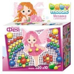фото Мозаика с аппликацией Toys Union «Фея»