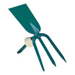 фото Мотыжка садовая с прямым лезвием Raco