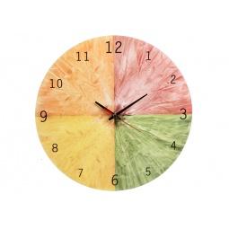 Купить Часы настенные POMIDORO «Сочный фрукт». Рисунок: цитрус