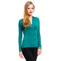 фото Кофта Mondigo 7011. Цвет: темно-зеленый. Размер одежды: 42