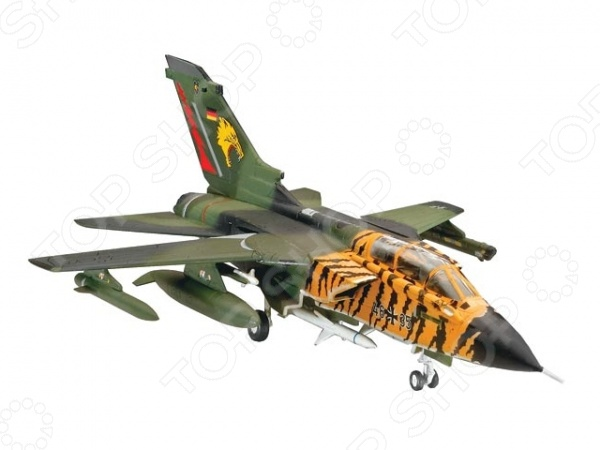 Сборная модель истребителя Revell Tornado ECR сборная модель истребителя revell фердинанд sd kfz 184