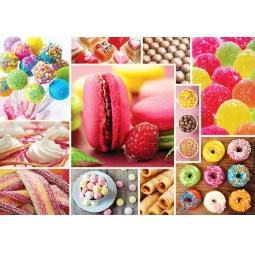 Купить Пазл 1000 элементов Trefl «Коллаж - конфеты»