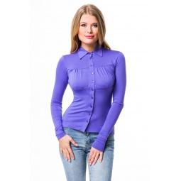 фото Блузка Mondigo 517. Цвет: ярко-сиреневый. Размер одежды: 42