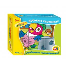 фото Кубики развивающие Step Puzzle Любимые мультфильмы-3