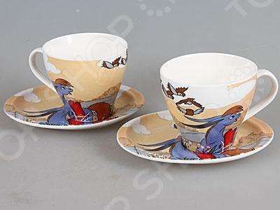 Чайная пара Rosenberg 8682Чайные и кофейные пары<br>Чайная пара Rosenberg 8682 незаменимый элемент повседневного чаепития. Иногда так приятно выпить чаю в компании близких и друзей из аккуратных чашек на блюдечках. Именно поэтому этот набор займет достойное место на любой кухне или же станет прекрасным подарочным вариантом в честь знаменательного события. В комплекте две чашки и два блюдца.<br>