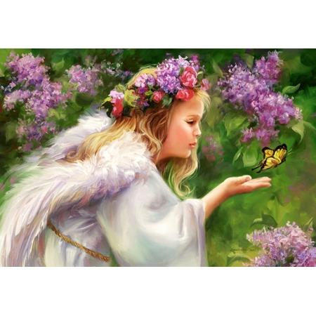Купить Пазл 1000 элементов Castorland «Бабочка и ангел»