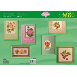Купить Набор схем для парчмента Pergamano M80 Фрукты и цветы
